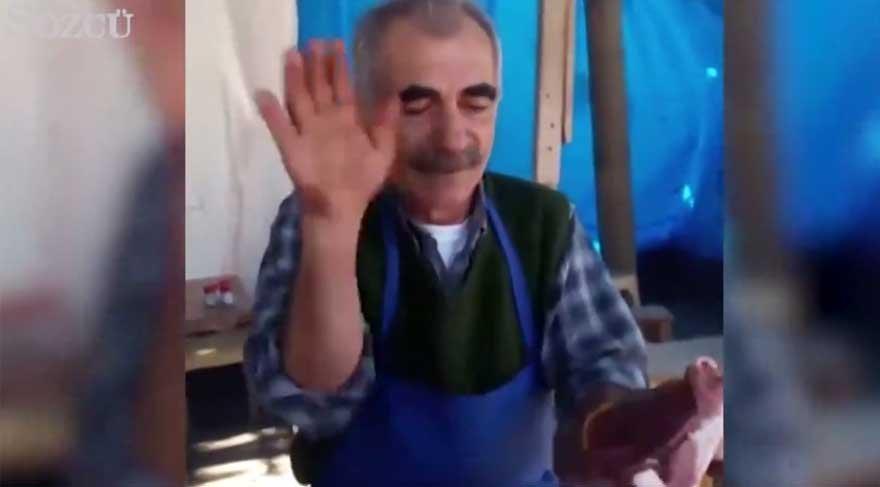 Adanalı meşhur kasap Nusret'e meydan okudu!