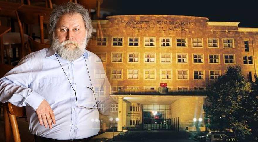 """Ali Nesin'den Atatürk Üniversitesi DTCF binasına """"çirkin"""" yorumu"""