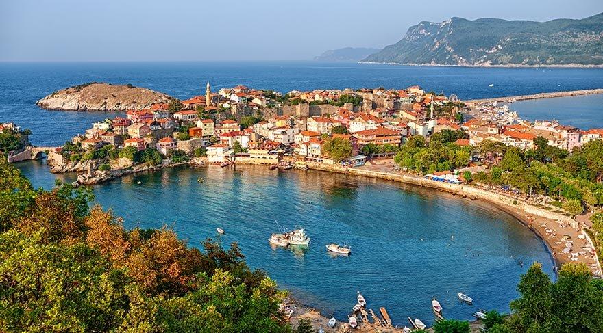 Batı Karadeniz'in yeşil cenneti Amasra