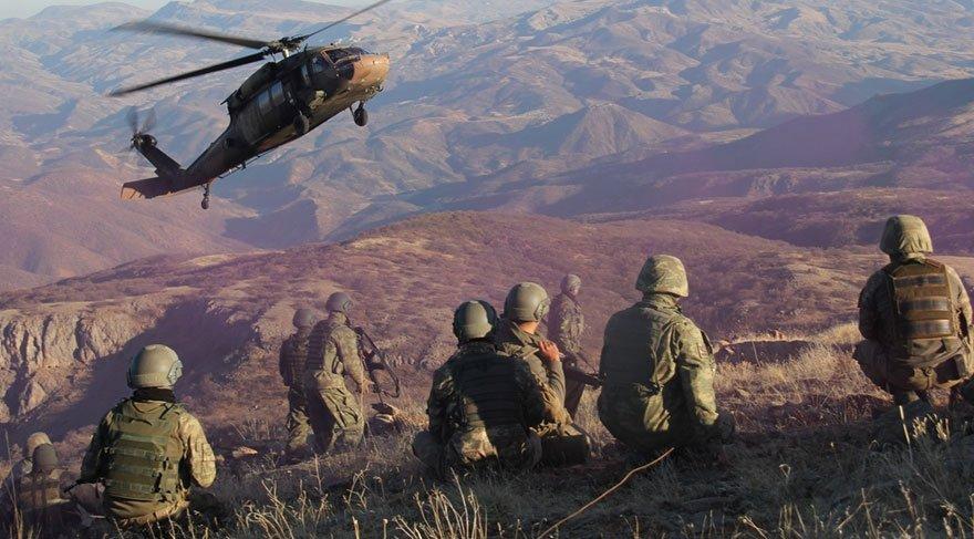 Tunceli'de 'Dost ateşinde' 2 asker hafif yaralandı
