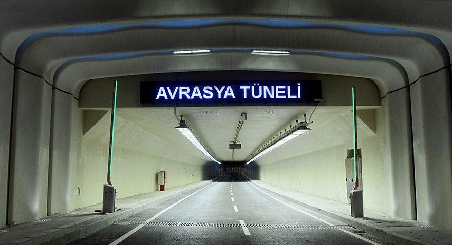 Servisler bile Avrasya Tüneli'ni kurtaramıyor