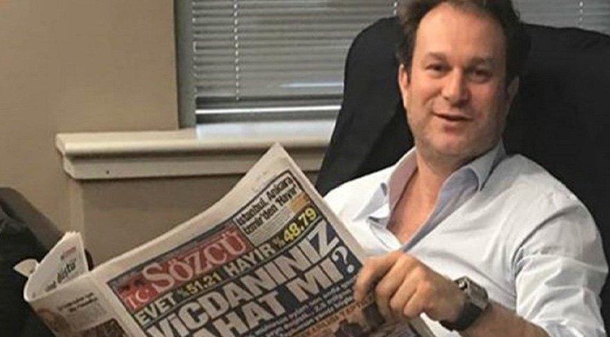 'Burak Akbay gazeteci ve gazete patronudur'