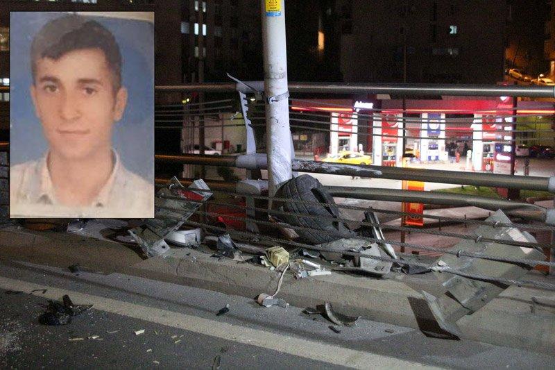 Dolmabahçe tünel çıkışında kaza: 1 ölü, 2 yaralı