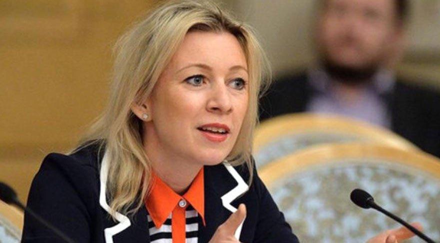 Zaharova Rusya ABD ye karşılık verecek