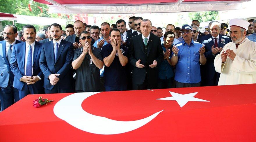 Şehit Albay Gökhan Peker son yolculuğuna uğurlandı