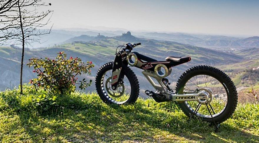 Elektrikli dağ bisikleti üretildi