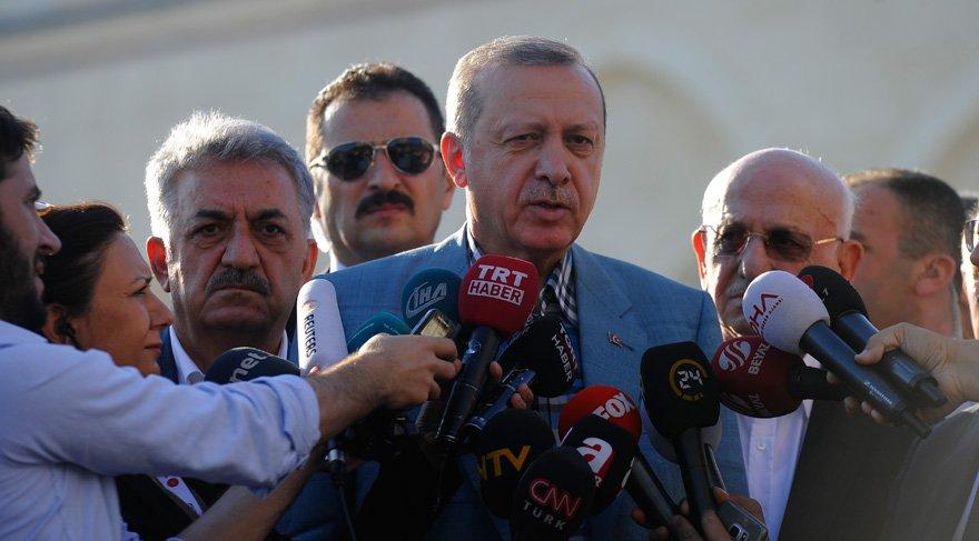 Cumhurbaşkanı Erdoğan camide rahatsızlık geçirdi