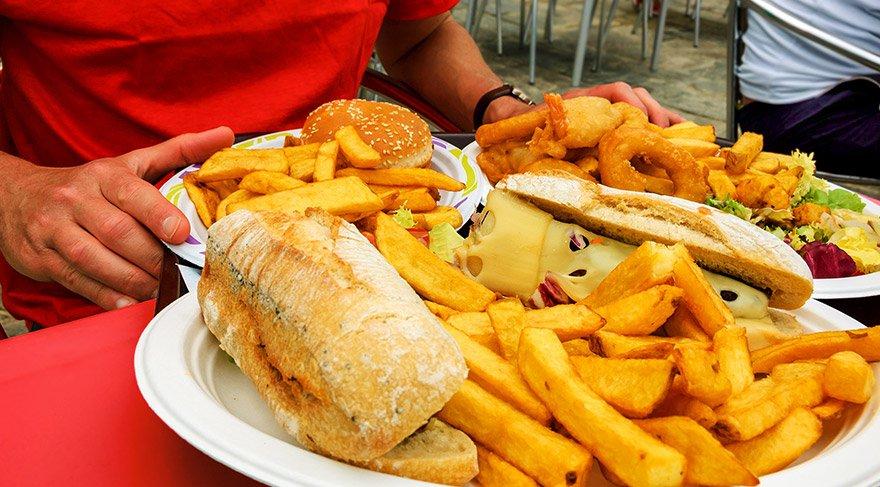 Patates kızartması yiyen erkeklere kötü haber