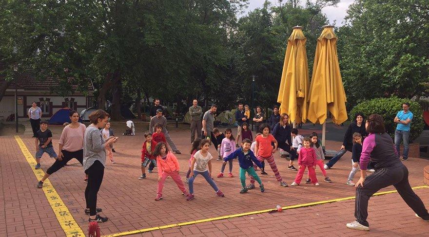 FMV Erenköy Işık Anaokulu Öğrencileri kamp yaşamını deneyimledi