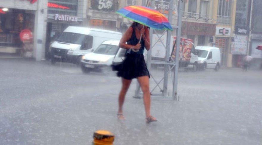 Yarın hava nasıl olacak, yağmur yağacak mı? (Meteoroloji'den açıklama) 18 Temmuz