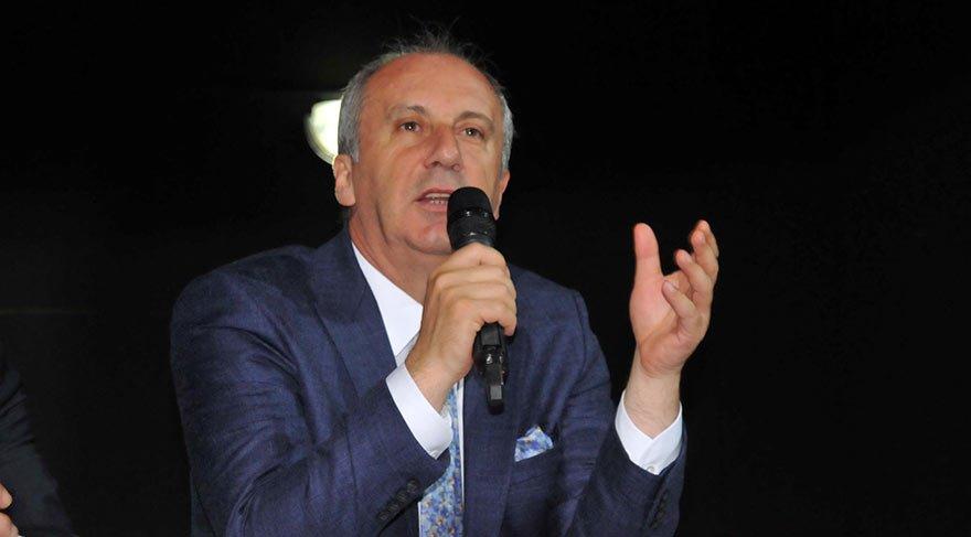 CHP'li İnce'den Erdoğan'a sert yanıt: Hadi sen bilmiyorsun anladık!