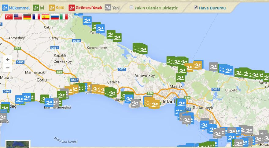 İşte Türkiye'nin temiz plajları… İstanbul'da nerelerde denize girilir?