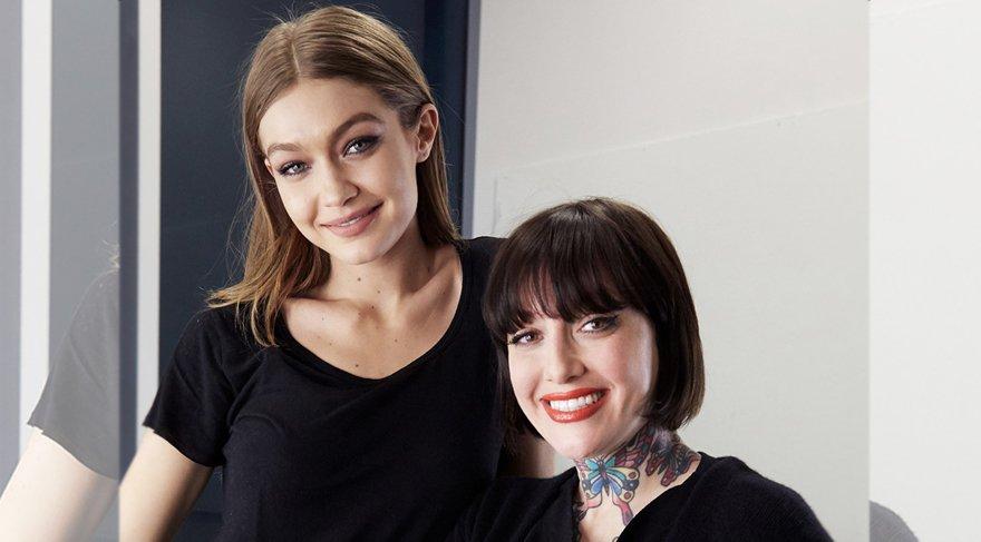 Gigi Hadid'in makyözü global makyaj artisti oldu