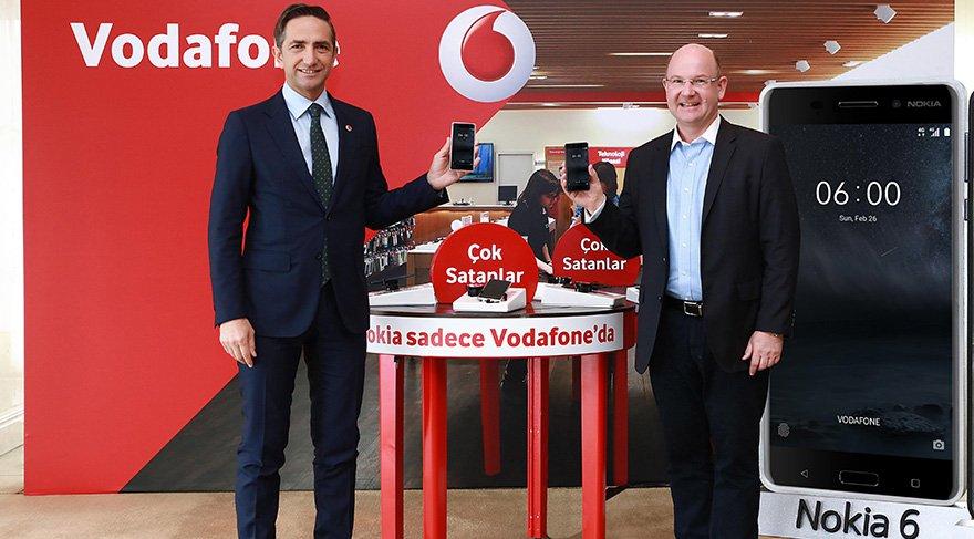 Vodafone ve Nokia'dan akıllı telefon anlaşması