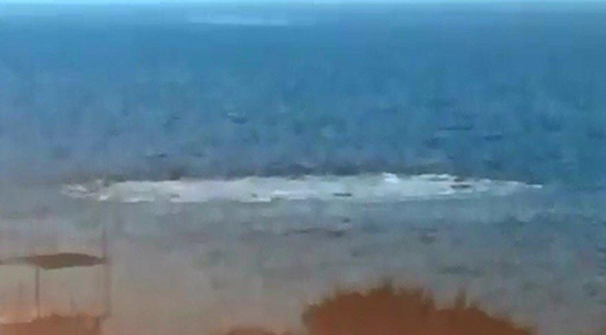 Ayvacık sahilinde patlama!