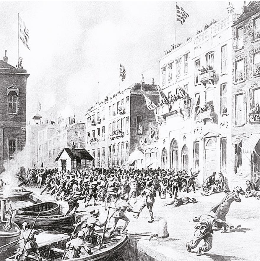 1 Haziran 1919 tarihli The Graphic dergisinde yayımlanan bu çizimde İzmir'in işgali anlatılıyor.