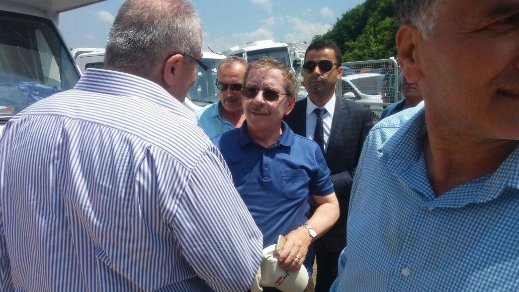 FOTO:SÖZCÜ - Yürüyüşün bugünkü bölümene AKP'nin kurucularından eski Başbakan Yardımcısı Abdüllatif Şener de katıldı.