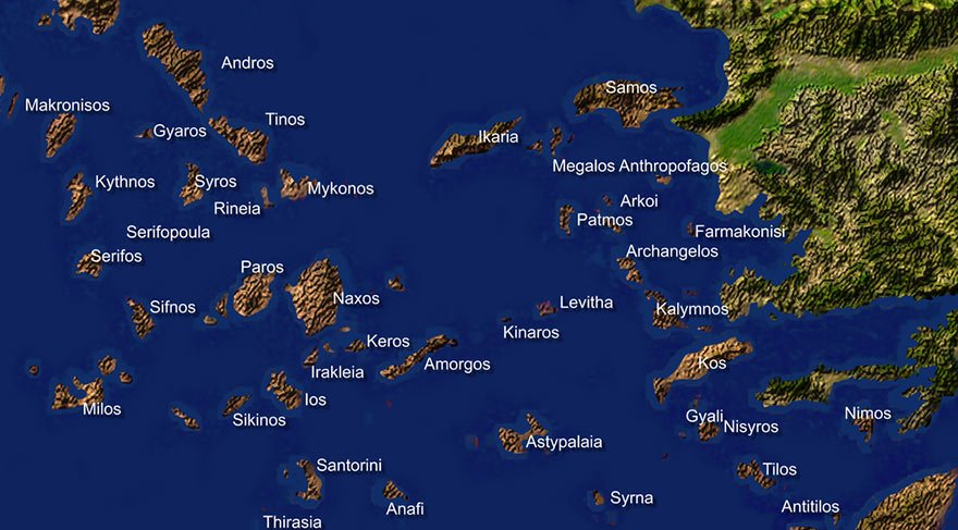 Yunanistan, işgal ettiği 6 adamıza 10 üs kurdu