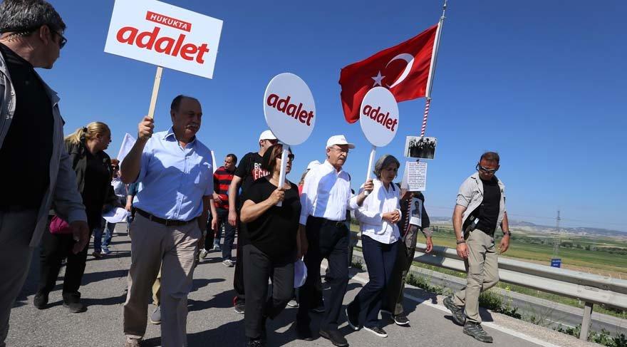 Kılıçdaroğlu: Sözcü için de yürüyorum