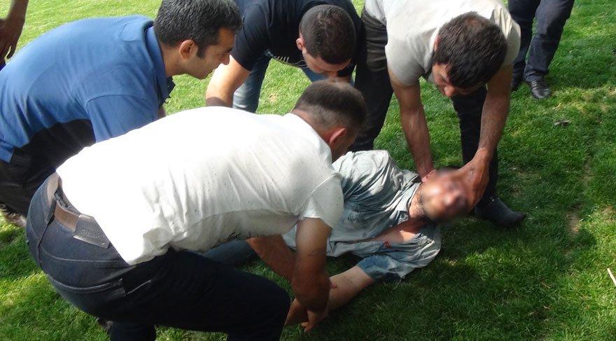 Taksim Gezi Parkı'nda ibretlik görüntü