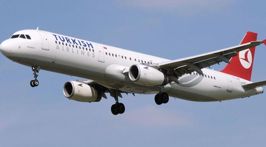 THY uçağında panik! Kuş çarptı