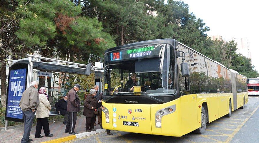 5001 otobüs durağı ihaleyle satılıyor