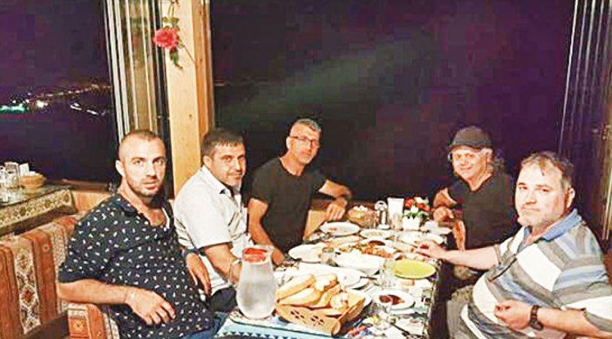 Provokatörler, serbest kalınca gübreli tahriki yemekle kutladı