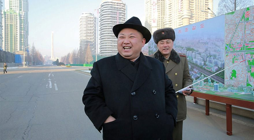 Kuzey Kore sonunda vurdu... Ama su bombasıyla!