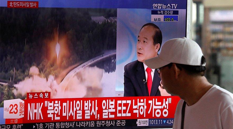 Kuzey Kore gerilimi tırmandırıyor! Füze denemesi panik yarattı…