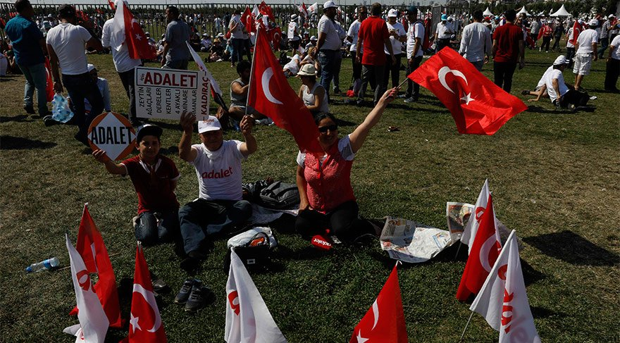 Kadir Topbaş'tan Adalet Buluşması jesti…