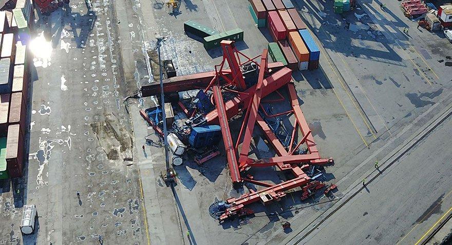 Haydarpaşa Limanı kapandı... Zarar büyük