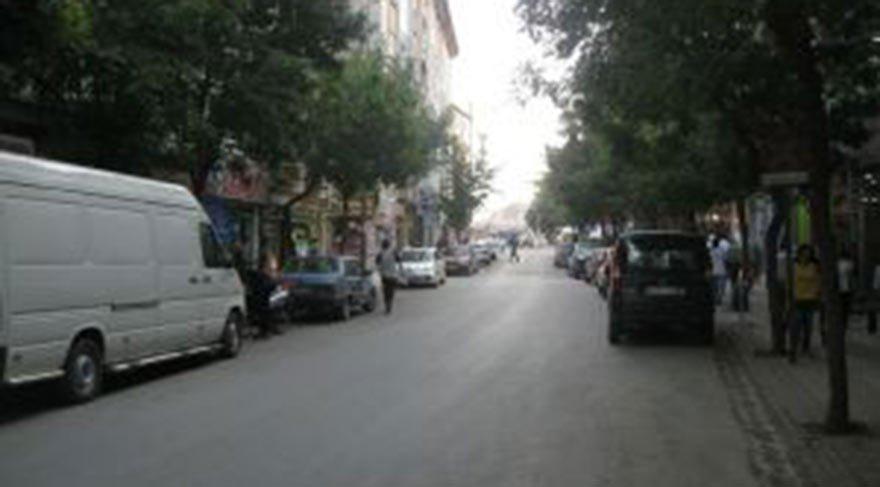 ESKİDEN YEMYEŞİLDİ Sivas'ın merkezindeki Kepenek Caddesi, sağlı sollu dizilmiş ağaçlarıyla yemyeşil bir görüntüye sahipti.