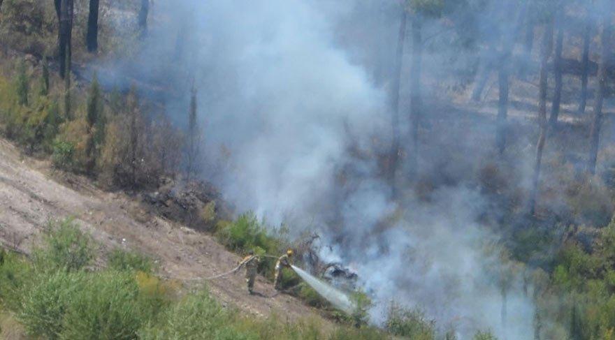 Çok ağır tablo: 400 hektar orman yandı