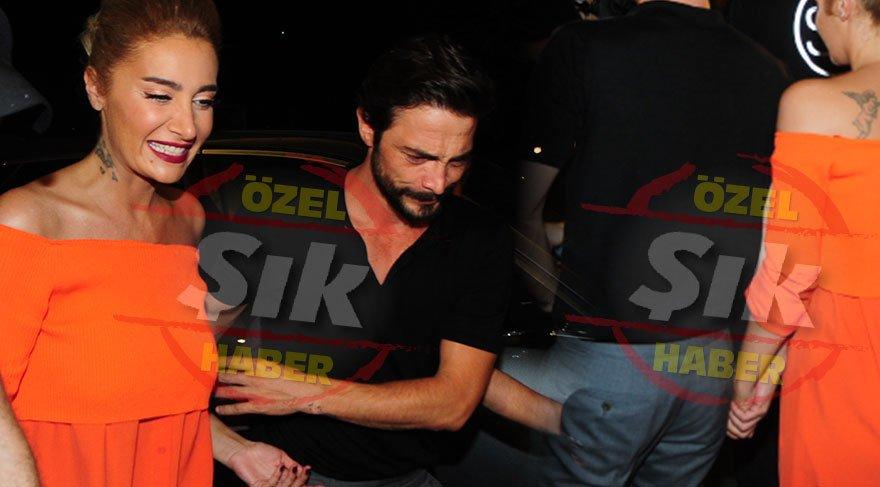 Sıla ve Ahmet Kural ilk kez el ele görüntülendi!