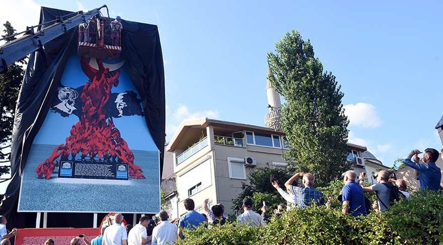 """CHP'li belediyeden dev """"15 Temmuz Demokrasi Anıtı'"""