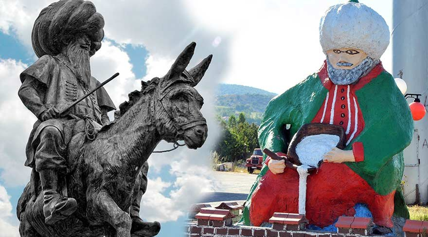 Konya'da tepki çeken heykeller!