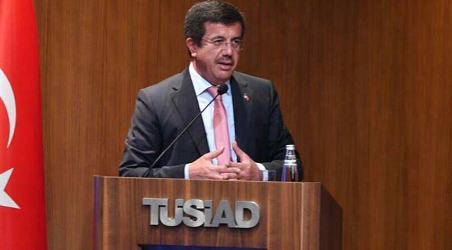 Zeybekci'den TÜSİAD'a ihracat mesajı