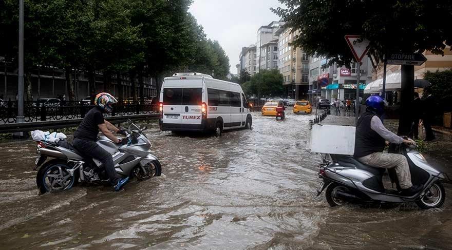 Son dakika haberi... İBB'den şiddetli yağışlarla ilgili açıklama