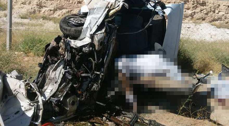 Kahramanmaraş'ta feci kaza: 4 ölü, 3 yaralı