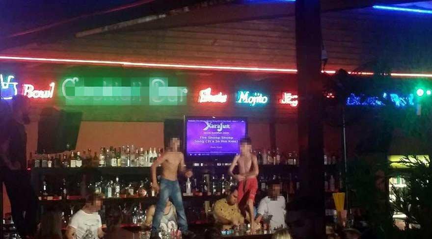 Barda çocukların dansı tepki çekti