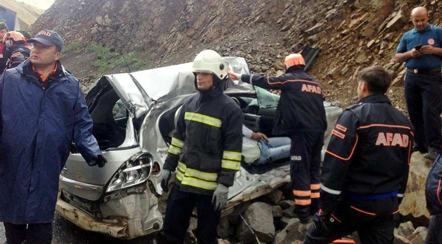 Erzurum'da feci kaza! 3 ölü, 1 yaralı…