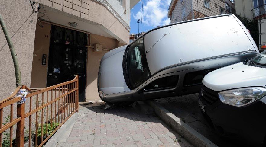 Kağıthane'de akıl almaz kaza