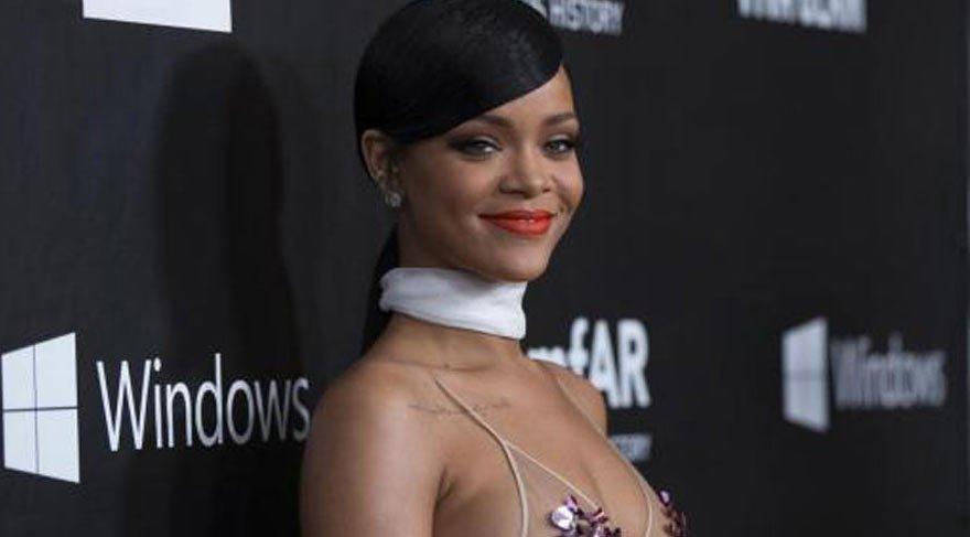 Rihanna'nın olay yaratan stili