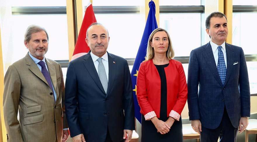 Çavuşoğlu'ndan kritik AB açıklaması