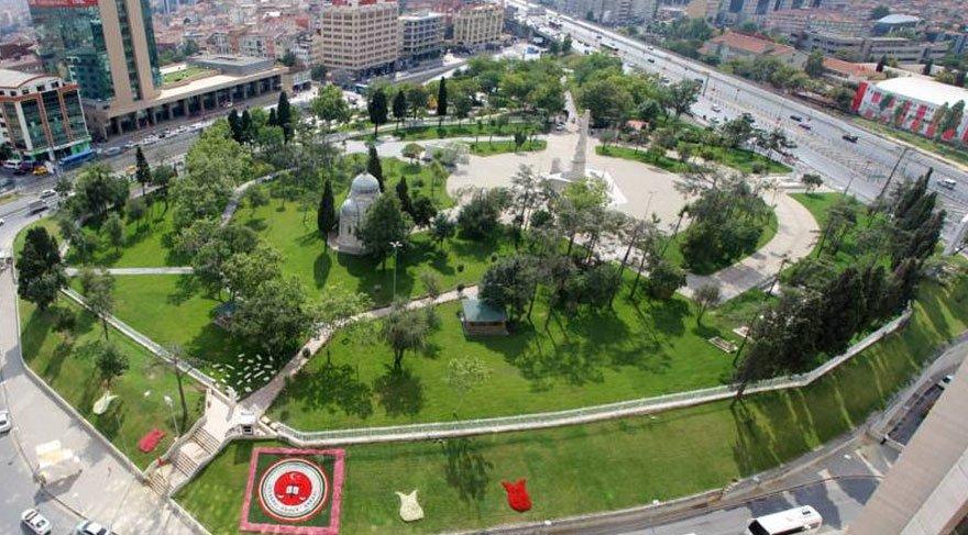 Foto: DHA - Şişli Abide-i Hürriyet parkı yeni hali