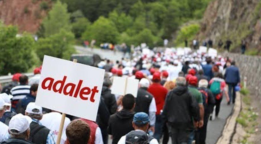 'Adalet Yürüyüşü' için marş yazıldı