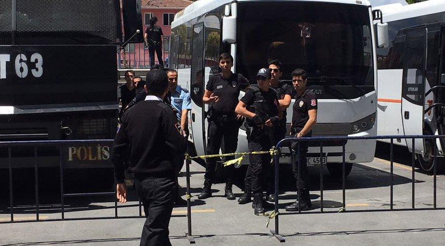 İstanbul Adliyesi'nde firar girişimi