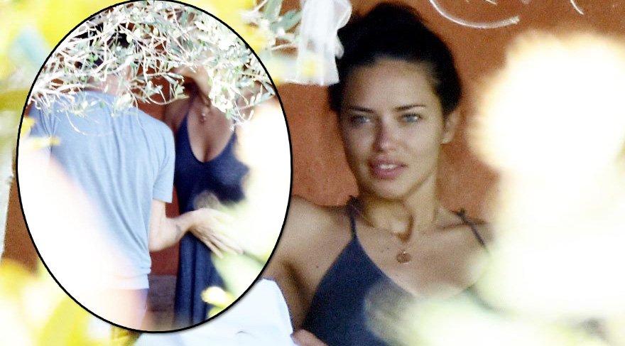 Adriana Lima ve Metin Hara'nın Bodrum'daki ilk gün kahvaltısı