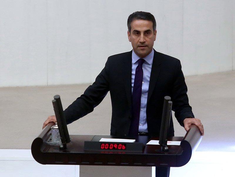 FOTO:DHA - HDP Grubu adına parti grup başkanvekili Ahmet Yıldırım konuştu.