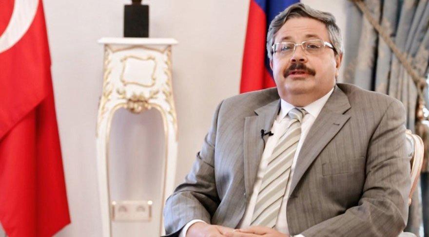 Rusya'nın Ankara Büyükelçisi geldi